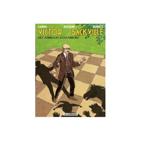 Victor Sackville 17 Het Anderson schaakbord 1e druk 2002