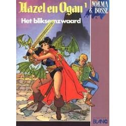 Hazel en Ogan 01 Het bliksemzwaard 1e druk 1989