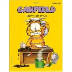 Garfield 26 Heeft het druk 1e druk 1991
