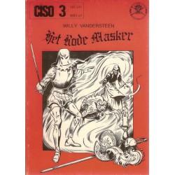 Ciso 03 Het rode masker / Het gouden masker 1e druk 1977