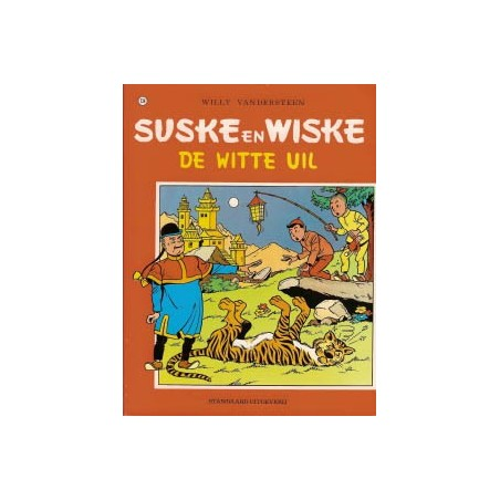 Suske & Wiske  Oorspronkelijk omslag* 134 De witte uil