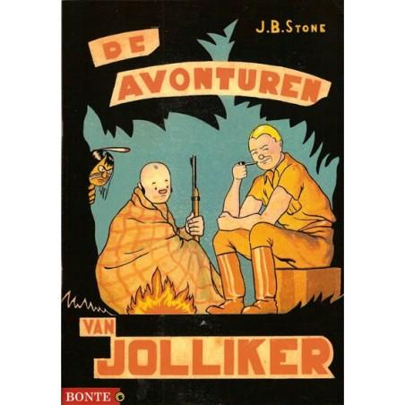 Avonturen van Jolliker set deel 1 & 2 1e drukken 2013 zwart-wit
