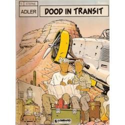 Adler 03% Dood in Transit 1e druk 1989