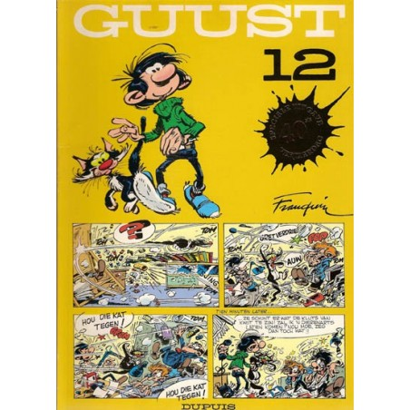 Guust Flater II 12 40ste verjaardag speciale uitgave met vignet 1996