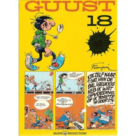 Guust Flater II 18 40ste verjaardag speciale uitgave met vignet 1997