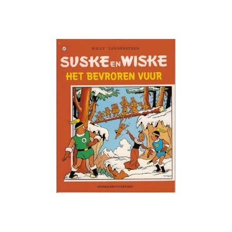 Suske & Wiske  Oorspronkelijk omslag* 141 Het bevroren vuur