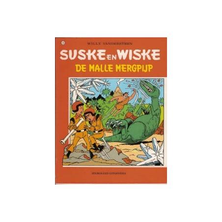 Suske & Wiske  Oorspronkelijk omslag* 143 De malle mergpijp