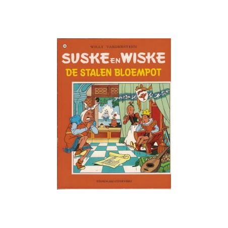 Suske & Wiske 145 De stalen bloempot herdruk