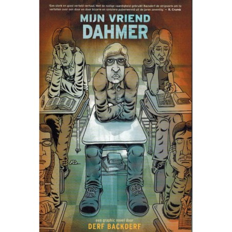Backderf strips NL Mijn vriend Dahmer