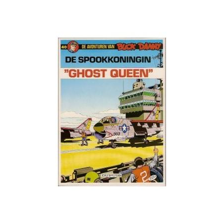 """Buck Danny  40 De spookkoningin """"ghost queen"""""""