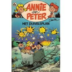 Annie en Peter 06 Het duivelsplan herdruk 1983 (eerder in zwart-wit als Magnum 4)