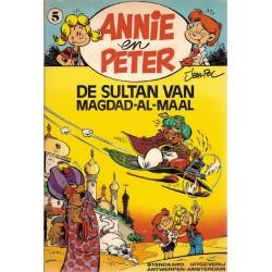 Annie en Peter 05 De sultan van Magdad-Al-Maal 1e druk 1982