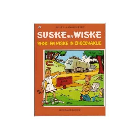 Suske & Wiske  Oorspronkelijk omslag* 154 Rikke & Wiske in Chokowakije