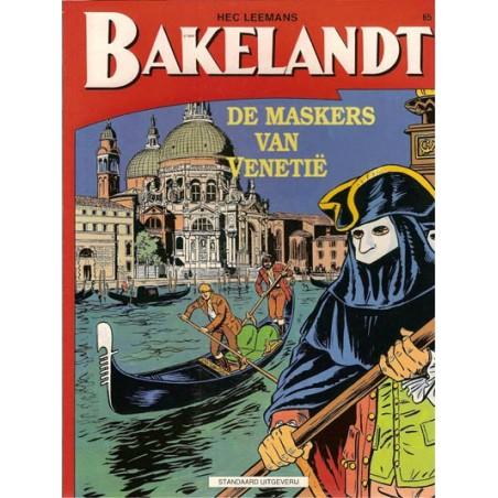 Bakelandt 65 De maskers van Venetie 1e druk 1995