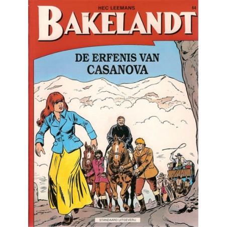 Bakelandt 64 De erfenis van Casanova 1e druk 1994