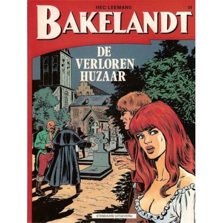 Bakelandt 59 De verloren Huzaar 1e druk 1993
