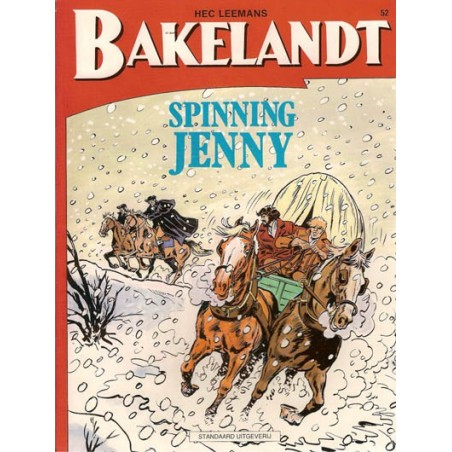 Bakelandt 52 Spining Jenny 1e druk 1991