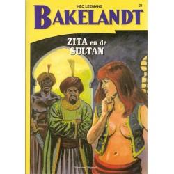 Bakelandt 28 Zita en de Sultan herdruk