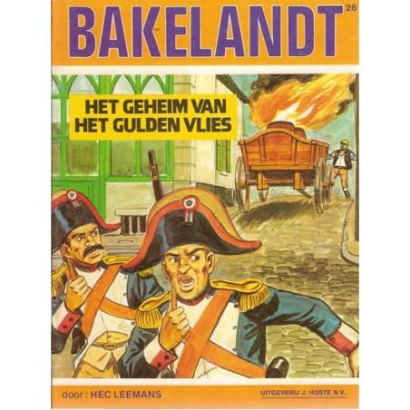 Bakelandt 26 Het geheim van het Gulden Vlies 1e druk 1984