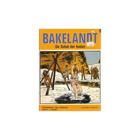 Bakelandt 09 De schat der Teuten 1e druk 1980