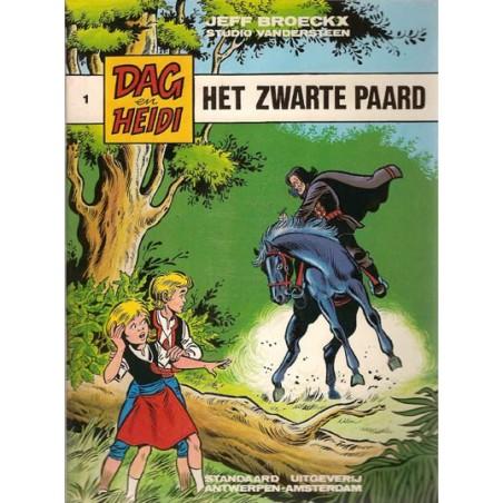 Dag & Heidi 01 Het zwarte paard 1e druk 1980