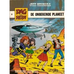 Dag & Heidi 03% De onbekende planeet 1e druk 1980