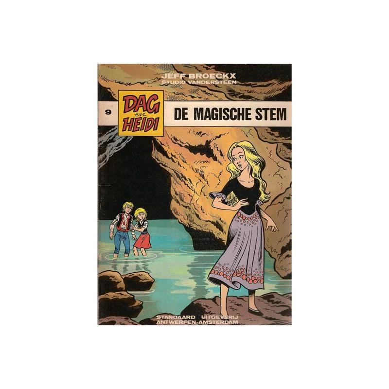 Dag & Heidi 09 De magische stem 1e druk 1983
