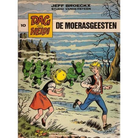 Dag & Heidi 10% De moerasgeesten 1e druk 1983