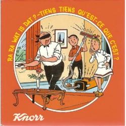 Suske & Wiske Discoboek Ra ra wat is dat? / Tiens qu'est-ce que c'est 1e druk 1978