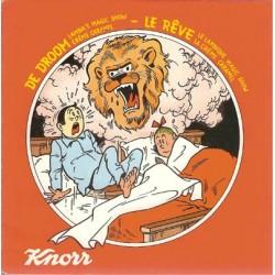 Suske & Wiske Discoboek De droom / Le Reve 1e druk 1978