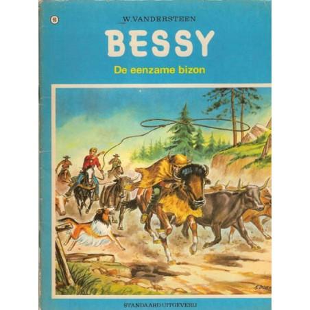 Bessy 093% De eenzame bizon 1e druk 1972