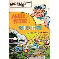 Magnum 04 Annie en Peter Het duivelsplan 1e druk 1978