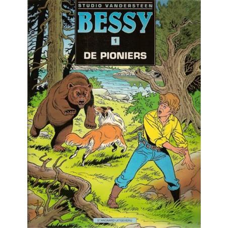 Bessy N01 De pioniers 1e druk 1997 (naar Vandersteen)
