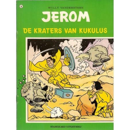 Jerom 78 De kraters van Kukulus 1e druk 1979