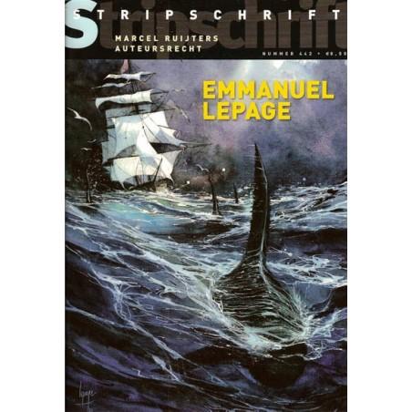 Stripschrift 442 Emmanuel Lepage, Peter Pontiac & Marcel Ruijters, Jean Dulieu