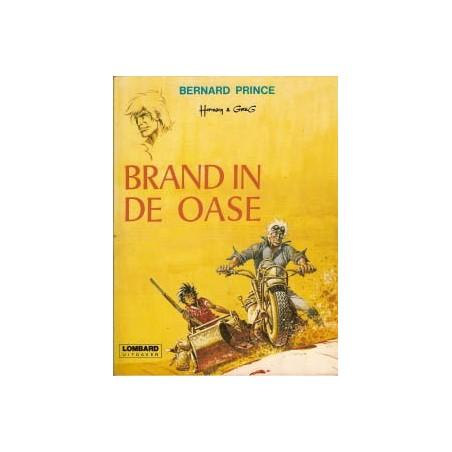 Bernard Prince 05% Brand in de oase oorspronkelijk omslag