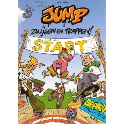 Jump 01 Zwijgen en trappen 1e druk 2007