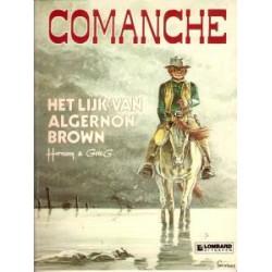 Comanche 10 - Het lijk van Algernon Brown 1e druk 1983