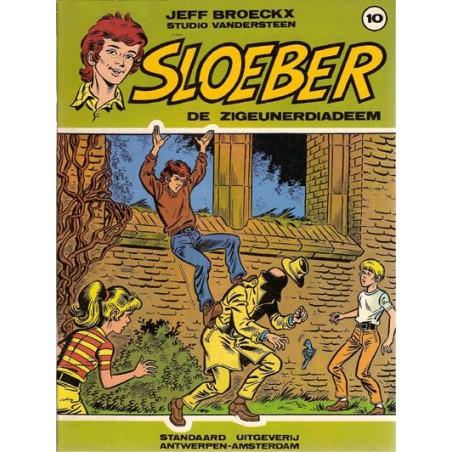 Sloeber 10 De zigeunerdiadeem 1e druk 1985