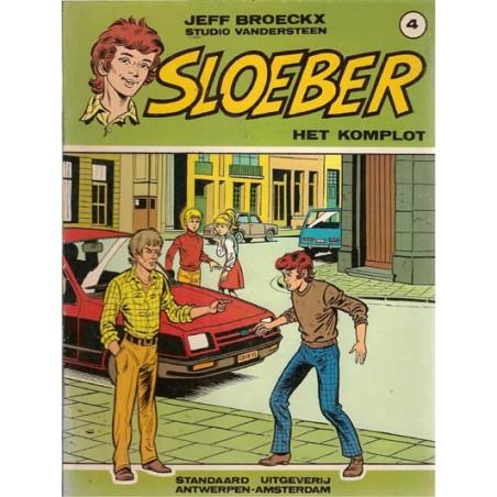 Sloeber 04 Het komplot 1e druk 1983