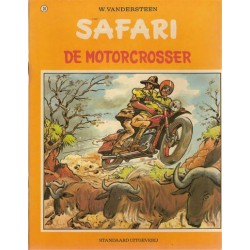 Safari 24 De motorcrosser 1e druk 1974