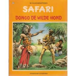 Safari 22 Dongo de wilde hond 1e druk 1973 met sticker Safari