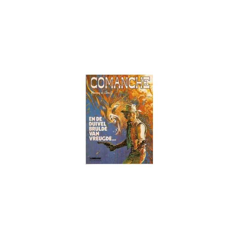 Comanche 09 - En de duivel brulde van vreugde 1e druk 1981