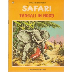 Safari 20 Tangali in nood 1e druk 1973 met sticker Familie Snoek
