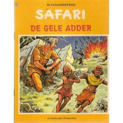 Safari 19 De gele adder 1e druk 1973