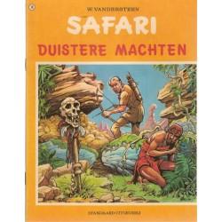 Safari 18 Duistere machten 1e druk 1973