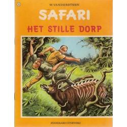 Safari 13 Het stille dorp 1e druk 1972