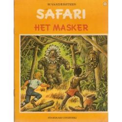 Safari 08 Het masker 1e druk 1971