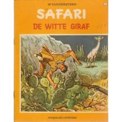 Safari 07 De witte giraf 1e druk 1971