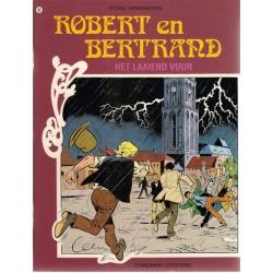 Robert en Bertrand 86 Het laaiend vuur 1e druk 1990